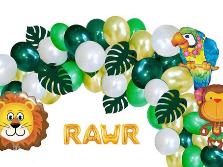 Jungle Safari Themed Balloon Party Box offered by Balloon Party Box