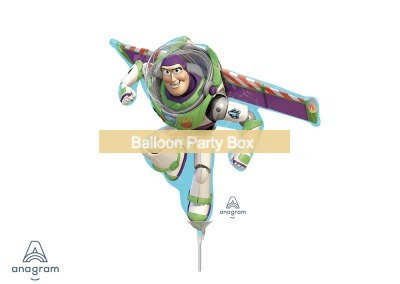 Anagram From US - 33cm x 12cm Buzz Lightyear Toy Story Foil Balloon - 13 inch