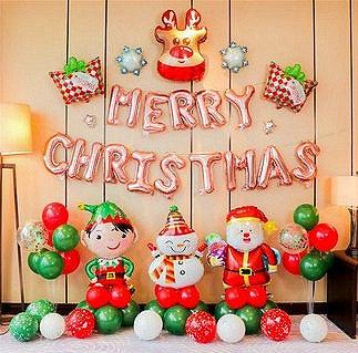 Christmas Balloon Feast - Set L
