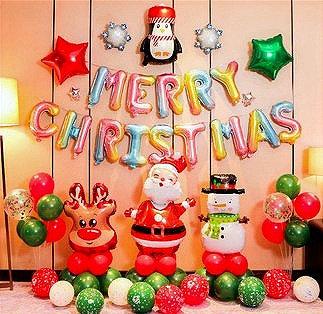 Christmas Balloon Feast - Set K