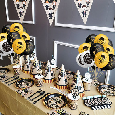 Harry Potter Themed Party Table Decorations