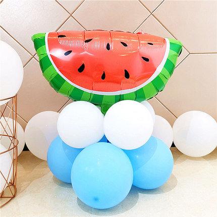 Watermelon Piece HBD Fruit Balloon Set