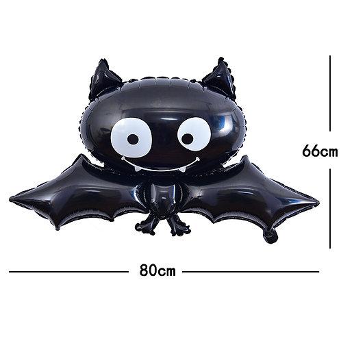 Halloween Black Bat Foil Balloon