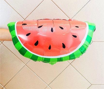 48x67cm Watermelon Piece Foil Balloon