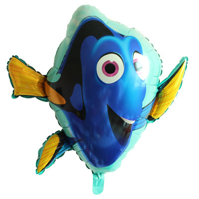 65x45CM Large Finding Dory Foil Balloon