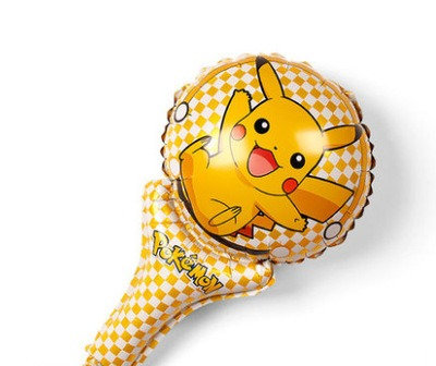 Pikachu Cheer Stick Balloon 40cm x 25cm