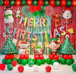 Luxury Christmas Balloon Feast - Set B