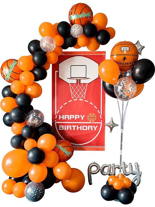Basketball Theme Balloon Party Box