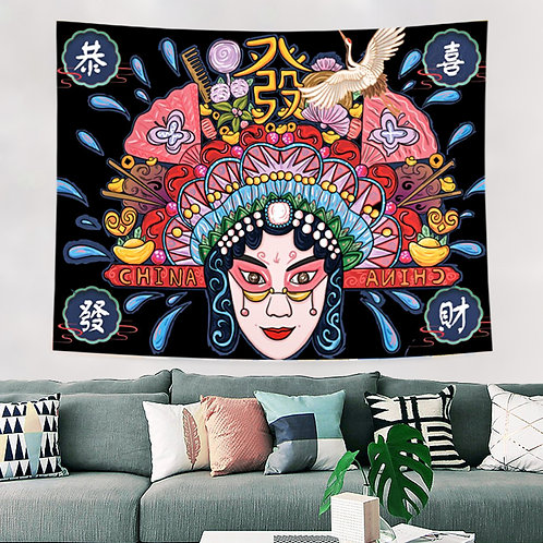 Peking Opera Backdrop 2m x 1.5m