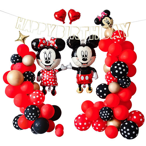 Mickey Mouse Themed Balloon Party Box