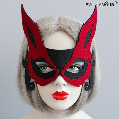 Fox Design Red Eye Mask