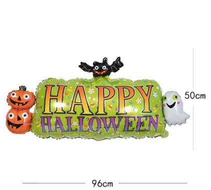 Halloween Theme Figure Foil Balloon