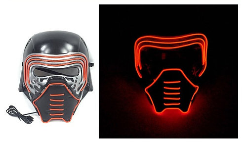 Halloween Light Up LED Star War Mask Handmade