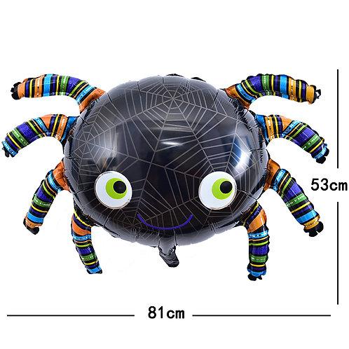 Halloween Black Spider Foil Balloon