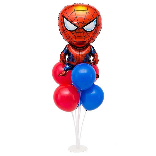 Spider-Man Table Balloon Decoration