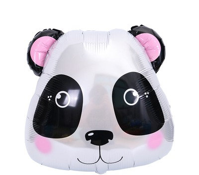 55X48CM Panda Holographic Foil Balloon