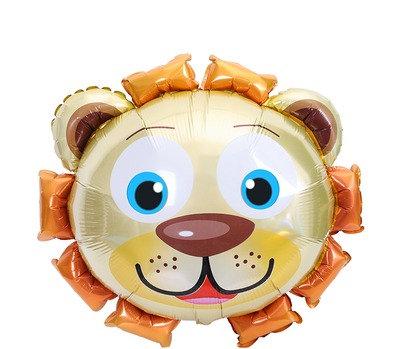 63X68CM Little Lion Holographic Foil Balloon