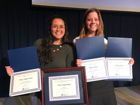 JCOM Students Honored at CHASS Awards