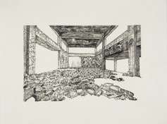 20th Century Decay #8 (Interior Ruin)
