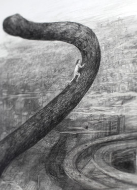 """(it) still lives #the city"" (detail)"