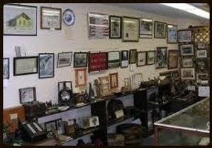 old museum exhibit