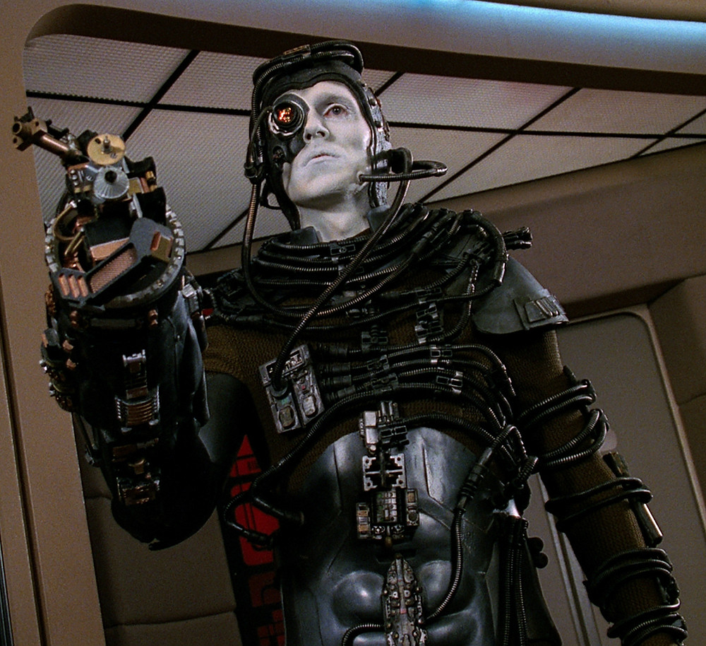 Borg drone from Star Trek tv series
