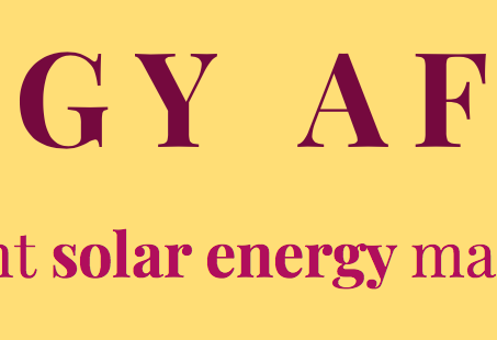 SOLAR POWER IS CHEAP AND EASY TO INSTALL