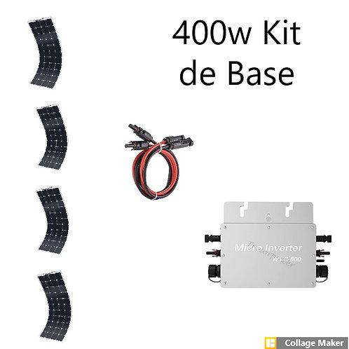 Kit  Solaire Autonome 400w de Base