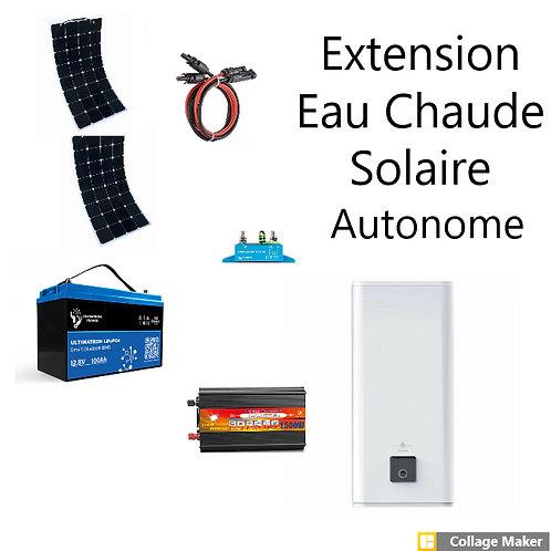 Kit Eau Chaude Solaire Autonome 1320w et stockage Lithium