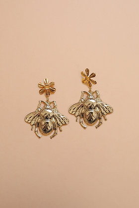 BEE FLOWER gold