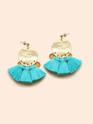 DYANI boucles d'oreilles turquoise