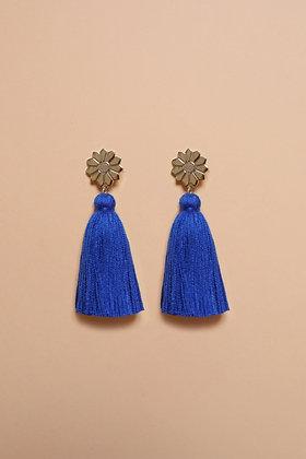 FLOWER pompon bleu