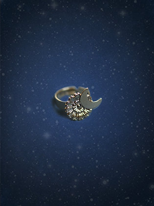 bague MOON & FLOWER