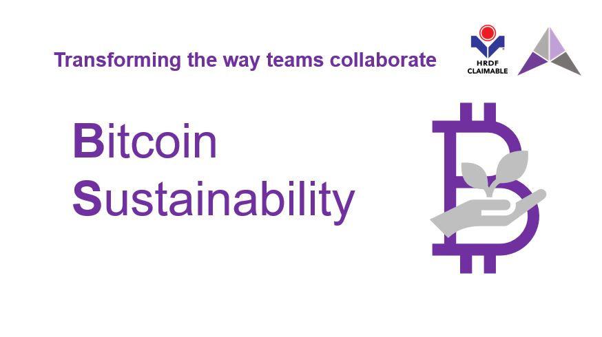 Bitcoin Sustainbility