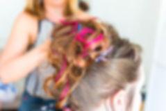 Wedding hair stylist, vintag wedding