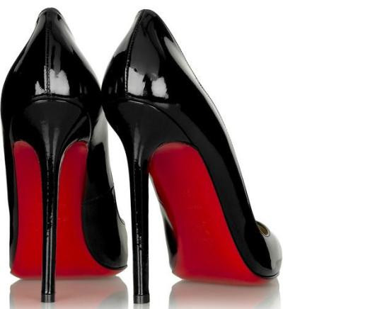 What should a sexy, expensive, empowering woman's heel sound like?
