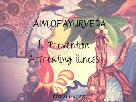 AIM OF AYURVEDA