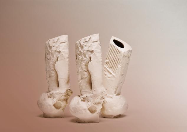 Vase 10.5 x 5 x 5 inches