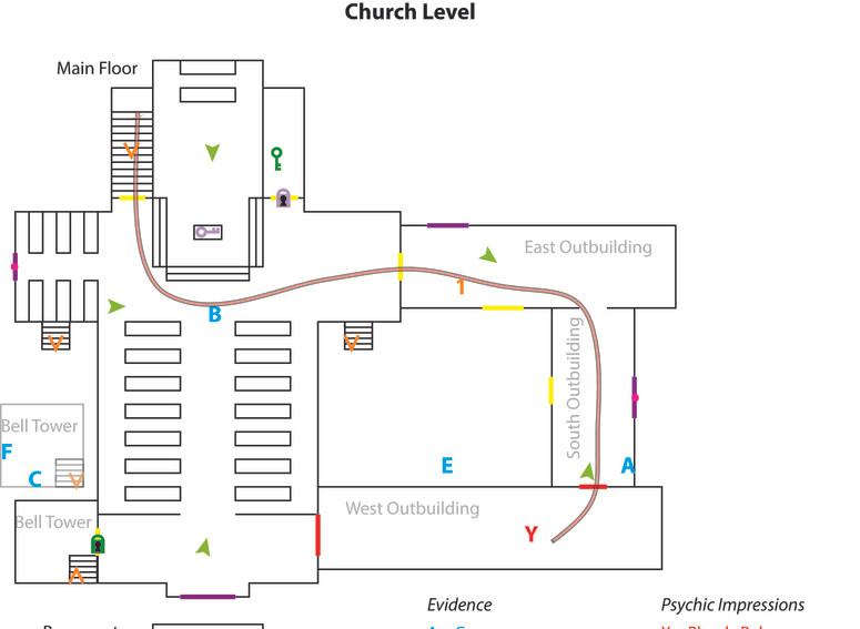Church Level Design Drawing