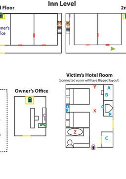 Inn Level Design Diagram