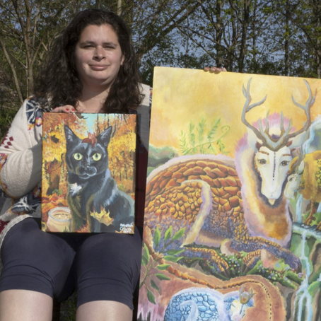 Catching Up with Visual Artist, Rebekah Church