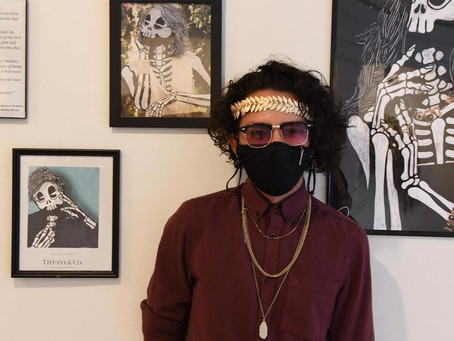 Skeletons & Ghouls: A Wicked Discussion with Visual Artist, Joseph Rivera