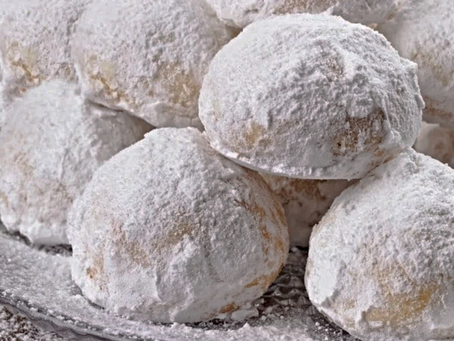[Recipe] Santa's Snowball Cookies
