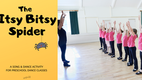 The Itsy Bitsy Spider- A Song & Dance Activity for Preschool Dance Classes