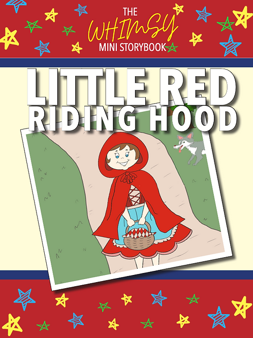 Whimsy Mini Storybook: Little Red Riding Hood