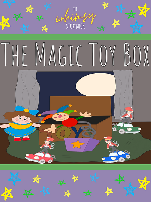 Whimsy Mini Storybook: The Magic Toy Box