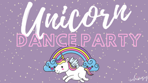 Unicorn Dance Party- A Fun Event Designed for Zoom