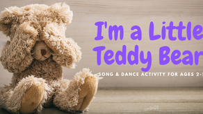 I'm A Little Teddy Bear-Song and Dance Activity for Ages 2-5