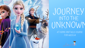 Journey in the Unknown- At Home Obstacle Course for Ages 3-8
