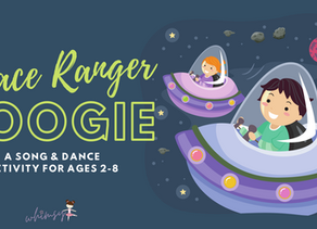The Space Ranger Boogie- A Song & Dance Activity for Ages 2-8